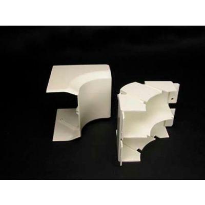 """Wiremold 40N2F17V 2"""" FiberReady Internal Elbow, Ivory, 4-1/2""""L"""