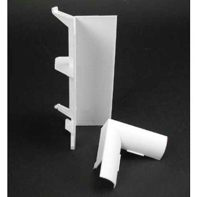 "Wiremold 5017CBK Internal Cover Elbow, Black, 5-5/16""L"