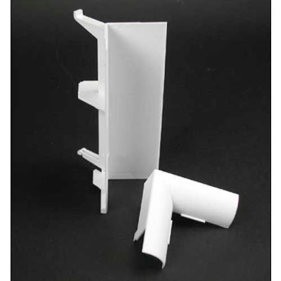"""Wiremold 5017CGY Internal Cover Elbow, Gray, 5-5/16""""L"""