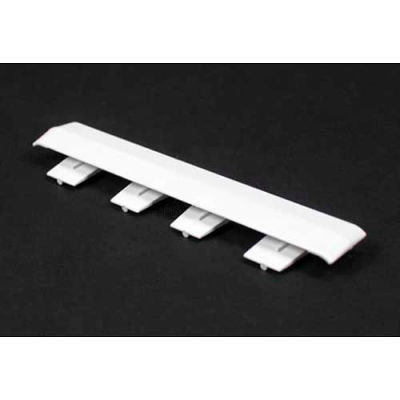 """Wiremold 5406a Cover Clip, Ivory, 3/4""""L"""