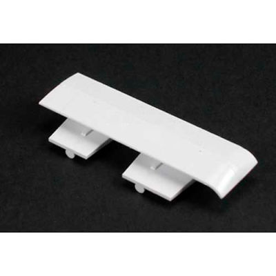 "Wiremold 5406t Twin Cover Clip, Ivory, 1""L"