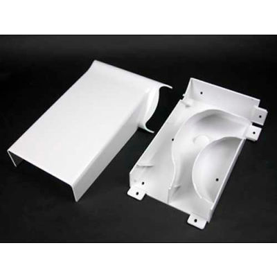 """Wiremold 5408R Transition Fitting to Right from MXN2A08, Ivory, 10""""L"""