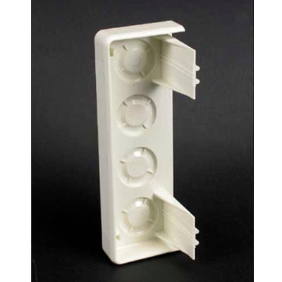 "Wiremold 5410 End Cap, Ivory, 1-7/8""L"