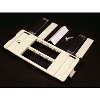 Wiremold 5507-4tjwh Ortronics Four Tracjack Faceplate, White