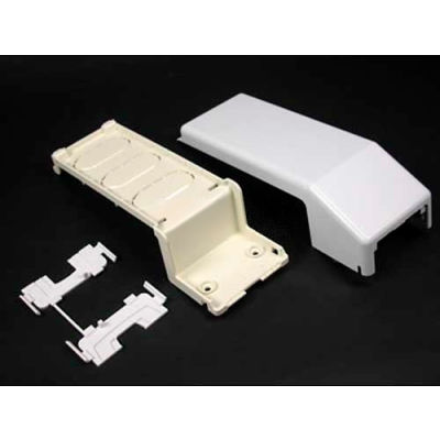 """Wiremold 5574 Transition Ftg 5500 to 400, 800, 2300 & PN Series Raceway, Ivory, 9-1/8""""L"""