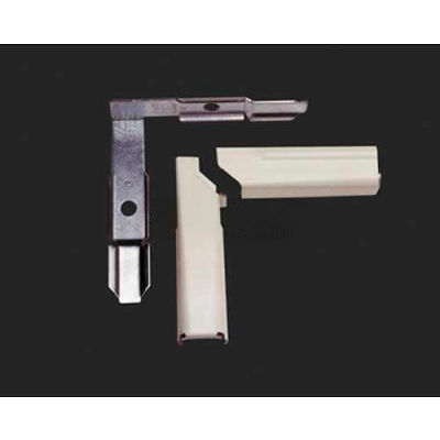 """Wiremold 5711lhawh Internal 90° Twisted Elbow Left Hand, White, 2-1/2""""L"""