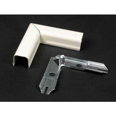 """Wiremold 711wh 90° Flat Elbow, White, 2""""L"""
