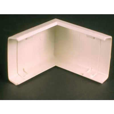 """Wiremold 818 External Elbow, Ivory, 2""""L"""