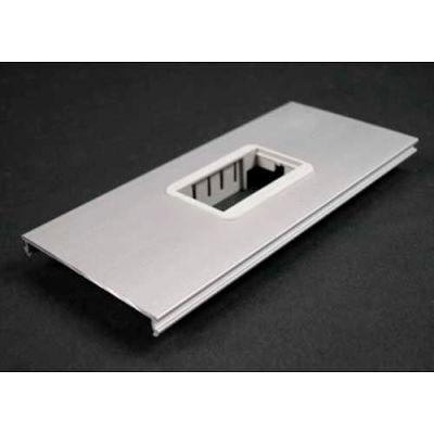 "Wiremold Al33562a 2a Mini Adapter Bezel Cover Plate, Includes Bezel, 6""L"