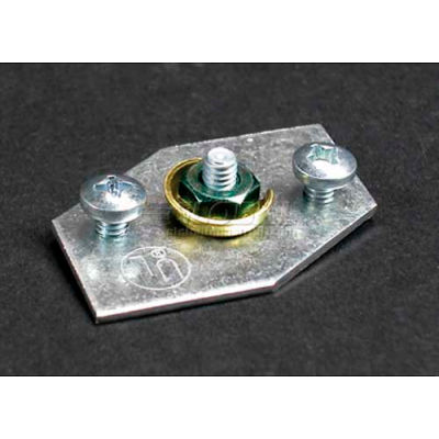 """Wiremold AL5209 Grounding Adapter, 1-1/2""""L"""