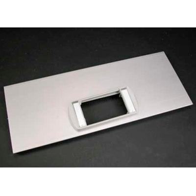 "Wiremold Al5256-Actlpb Low Profile Bezel Cover Pate, Includes Bezel, 12""L"