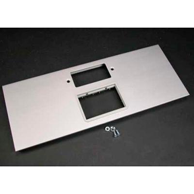 """Wiremold AL5256-GACT GFCI & 6A Mini Adapter Bezel Cover Plate, Includes Bezel, 12""""L"""