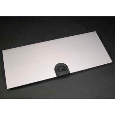 "Wiremold AL5256-Z 1 1/4"" Mousehole Device Plate, 12""L"