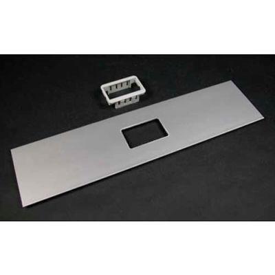"Wiremold ALA-2A 2A Mini Adapter Bezel Cover Plate, Includes Bezel, 12""L"