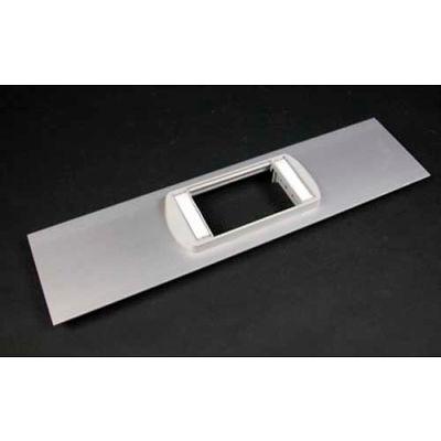 "Wiremold ALA-LPB Low Profile Bezel Cover Plate, Includes Bezel, 12""L"