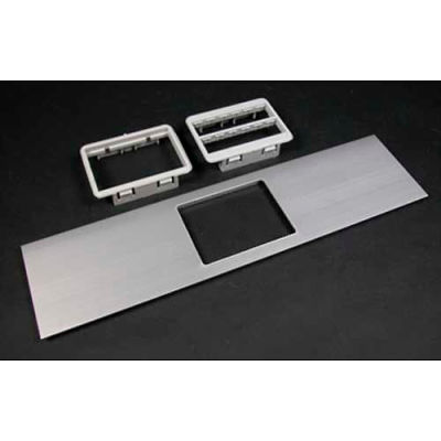 "Wiremold Ala-Mabrt Rt Series Mab Adapter Bezel Cover Plate, Includes Both Bezels, 12""L"