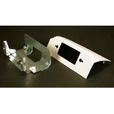 """Wiremold Dsdwnr-Bk Downward Decorator Device, Matte Black, 6""""L"""