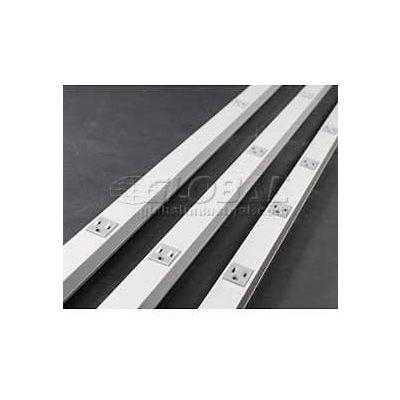 Wiremold G20gb506 Plugmold, 125v, 15a, 5'L - Min Qty 10
