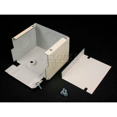 """Wiremold G3010c Entrance End Fitting W/1/2"""", 3/4"""" & 1"""" Kos, Gray, 4-1/2""""L"""