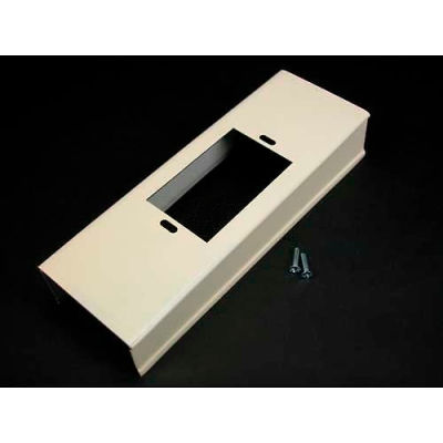 """Wiremold G3014c Wall Box Connector, Gray, 8""""L"""