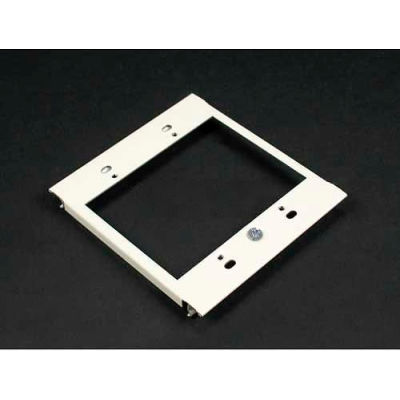 "Wiremold G6007c-2 2-Gang Device Plate For Vertical Mounting Of Devices, Gray, 2-7/8""L"