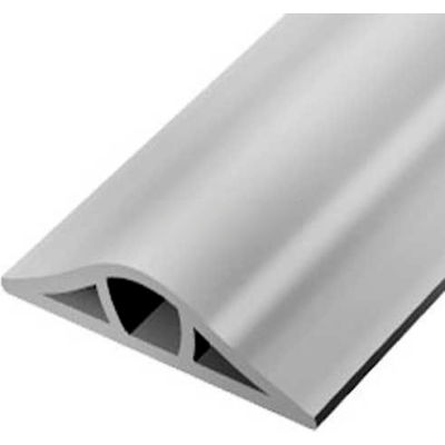 Wiremold GR1200-50 Corduct® Overfloor Cable Protection System, Gray, Priced per foot - Pkg Qty 50