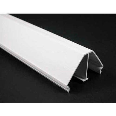 Wiremold Mxn2a08v Corner Drop Base And Cover, Ivory, 8'L