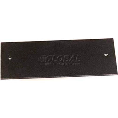 """Wiremold Overfloor47-2a Overfloor Communication Device Plate, 5-1/2""""L"""