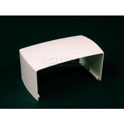 """Wiremold Pn03f06wh Cover Clip, White, 1""""L"""