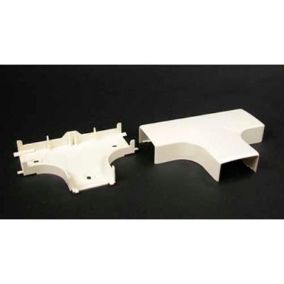 """Wiremold Pn05f15wh Tee Fitting, White, 4-3/4""""L"""