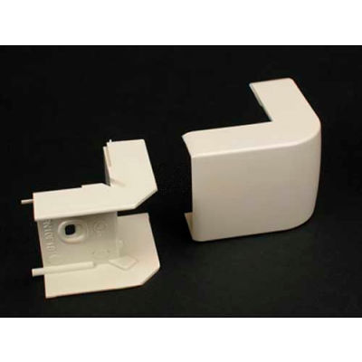 "Wiremold Pn10f18fw External Elbow, Fog White, 1-5/8""L"