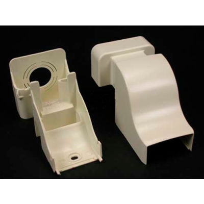 "Wiremold Pn10f86wh Drop Ceiling Connector, White, 6-3/8""L"