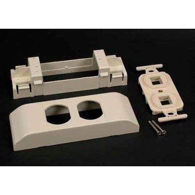 "Wiremold V2407-2tj Tracjack Series 106 Frame Device Bracket, 6""L"