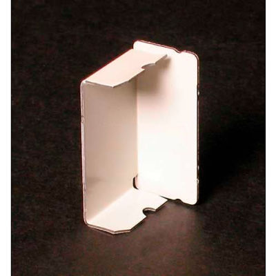 """Wiremold V2410b Blank End Fitting, 1-3/16""""L"""