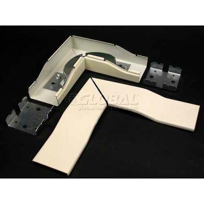 "Wiremold V2411fo 2"" Radius Fiberready Flat Elbow, 6-1/2""L"