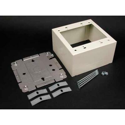 "Wiremold V2444-2 2 Gang Extra Deep Device Box, 4-3/4""L"