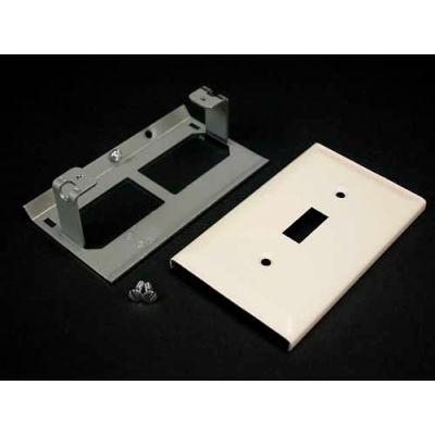 "Wiremold V3040ce Single Pole Switch Cover, Ivory, 4-1/2""L"