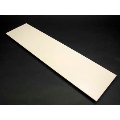 """Wiremold V4000c075 Precut Cover, Use W/Steel Dev. Plate For 12"""" Oc, Ivory, 7-1/2""""L"""