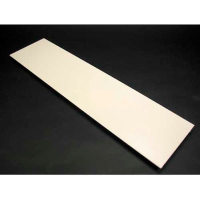 "Wiremold V4000c195 Precut Cover, Use W/Steel Dev. Plate For 24"" Oc, Ivory, 19-1/2""L - Pkg Qty 10"