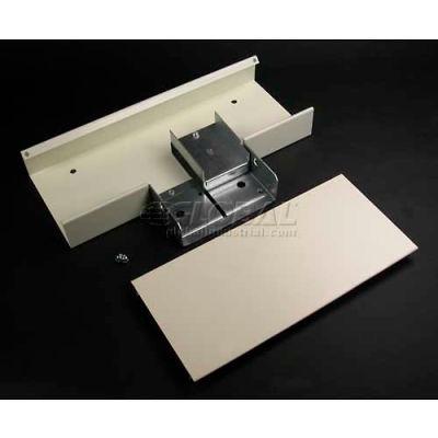 "Wiremold V4015D Divided Tee, Removable Divider, Ivory, 12""L"