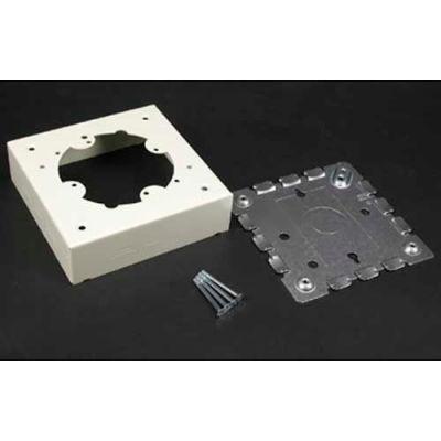 "Wiremold V5735 Distribution Box, Ivory, 4-3/4""L"