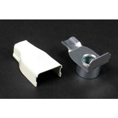"""Wiremold V5784 Elbow Conduit Connector 1/2"""" Female, Ivory, 2-1/8""""L"""