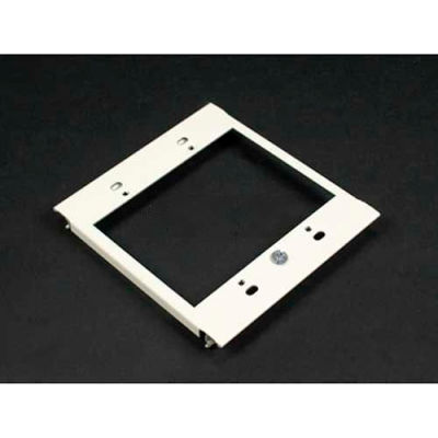 "Wiremold V6007c-2 2-Gang Device Plate For Vertical Mounting Of Devices, Ivory, 2-7/8""L"