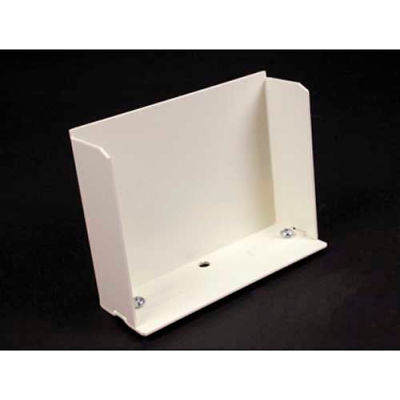 """Wiremold V6010b Blank End Fitting, Ivory, 4-3/4""""L"""