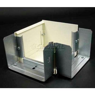 "Wiremold V6012tx 45° Internal / External Elbow, Ivory, 4-1/2""L"