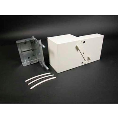 """Wiremold V6074A Take-off Connector, For Side Connection of 6000 to 4000, Ivory, 9-1/2""""L"""
