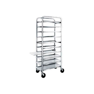 Winholt AL-1812B, All Welded Aluminum Pan Cart, 12 Pans, 18""