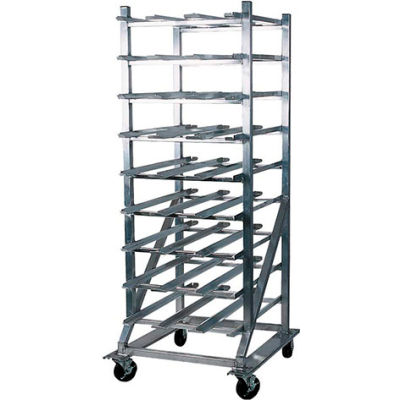 Winholt® CR-162M-Aluminum Full Sized Can Dispensing Rack,162(#10 Cans), 216(#5 Cans)