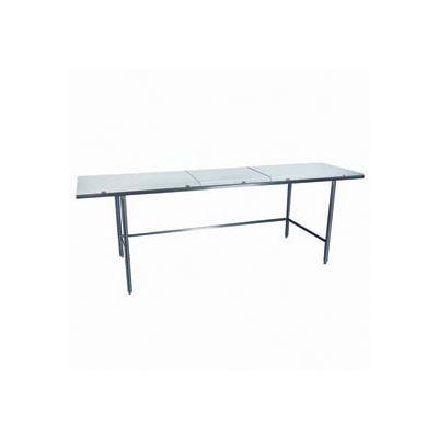 "Winholt Equipment DPTR-2484 Work Table - Poly Top 84""W x 24""D"