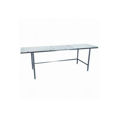 "Winholt Equipment DPTR-3672 Work Table - Poly Top 72""W x 36""D"